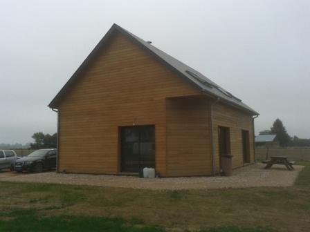 Maison en bois construite proche Lisieux