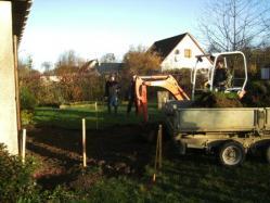 Agrandissement de maison en normandie proche rouen terrassement 1