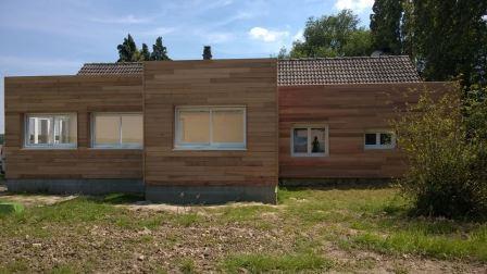 Agrandissement Et Isolation Ext Rieure D 39 Une Maison Ancienne