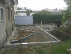 Agrandissement maison fondations 1