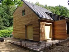 maison ossature bois avec tage et combles am nag s rouen. Black Bedroom Furniture Sets. Home Design Ideas