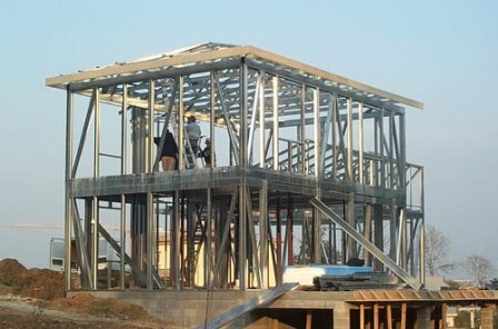 Construction ossature m tallique en france - Structure metallique maison ...