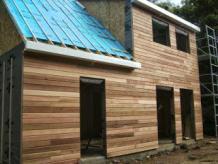 Chantiers de maison construite en bois