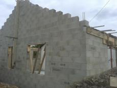 Construction du pignon