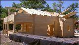 Construction en bois massif