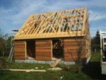 Construction d'une maison en bois en hors eau, hors air