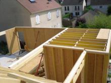 Construction maison ossature bois yvelines 1
