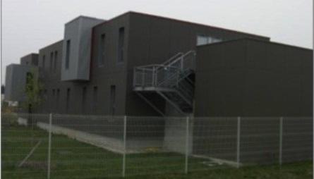 Habitation modulaire fabriqu e en structure m tal for Architecture modulaire