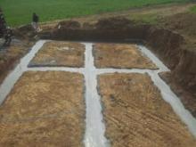 Coullage des fondations de sous sol