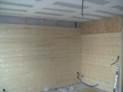 Doublage des murs par interieur