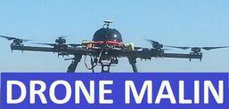 Vue aérienne par drone, Drone-malin