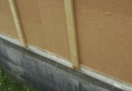 Pose du bardage sur murs ext rieur en ossature bois - Pose lambris bois sans tasseaux ...