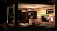 Habitation legere de loisirs salon exterieur
