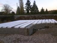 Isolation de la dalle beton du vide sanitaire pour construction bois