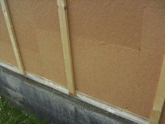 Isolation thermique de construction bois pose des isolants - Grille anti rongeur pour bardage ...