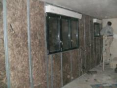 Isolation des murs interieurs par artisan plaquiste