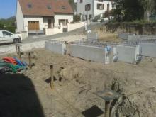 Longrine maison ossature bois 1