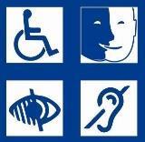 Maison fauteuil roulant mal voyant handicap 1