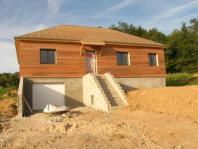 Maison ossature bois construite en normandie