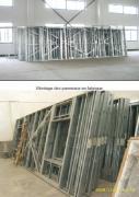 Ossature acier galvanise structure non porteuse