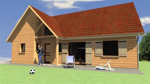 plan d 39 habitation mod le val d 39 oise. Black Bedroom Furniture Sets. Home Design Ideas