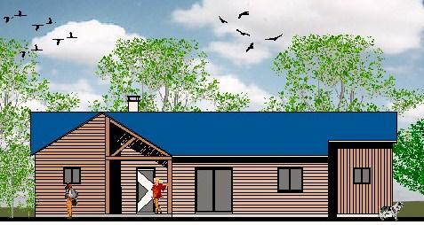 plan grautit de maison mod le cologique. Black Bedroom Furniture Sets. Home Design Ideas