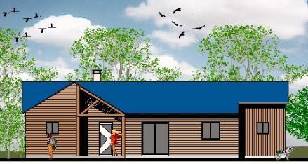 Plan de maison modele ecologique
