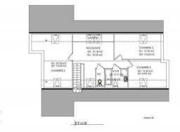 Plan etage eva