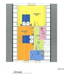 Plan etage robina wood
