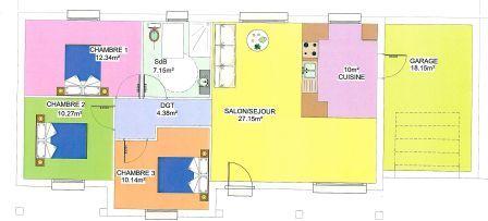 Plan Habitation Mod Le Senoria Adaptable Au Handicaps Plan De Maison Pour  Handicape