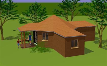 Chantier de construction d 39 une habitation l g re de loisirs for Habitation legere de loisir