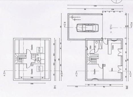 Plan habitation modele normandie