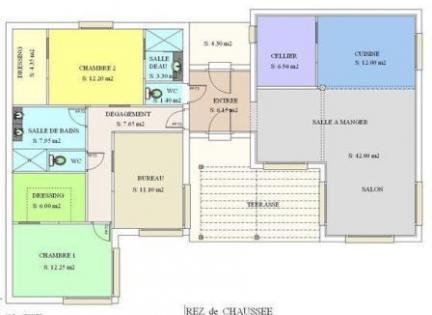 Plan interieur de maison metallique moderne steel