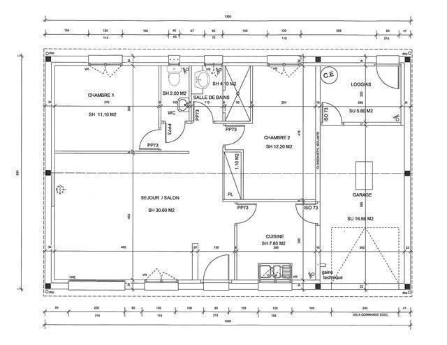 mod le seine maritime plan gratuit de maison. Black Bedroom Furniture Sets. Home Design Ideas