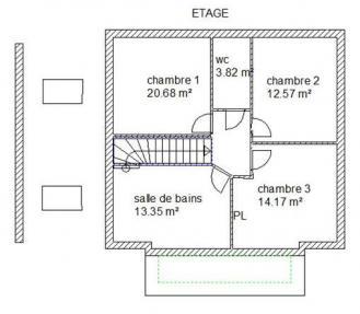 Plans etage tatina