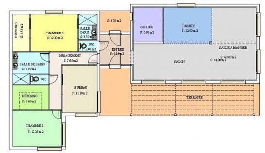 Plans interieur de maison urban metallica