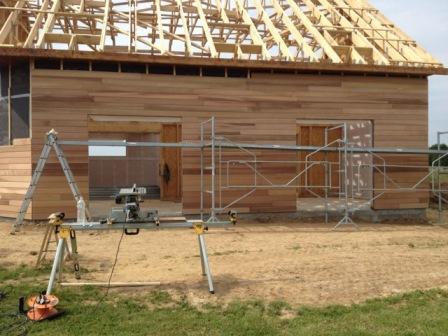 maison avec combles construite en ossature bois dans l 39 eure. Black Bedroom Furniture Sets. Home Design Ideas