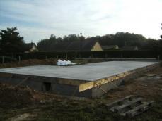 Realisation dalle beton 1