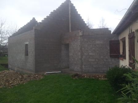 ... Construction D 39 Un Agrandissement En Ma Onnerie Rouen For Pret  Travaux Agrandissement Maison ...