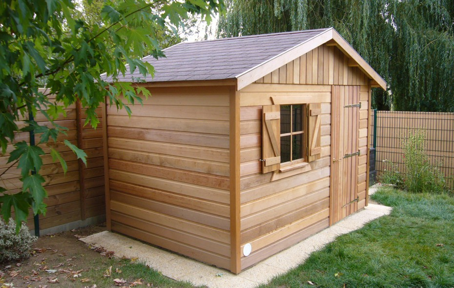 Bardage red cedar prix top bardage red cedar with bardage for Abri de jardin prix