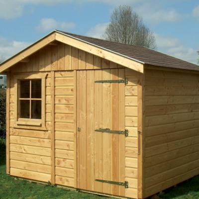 Constructeur abri de jardin en ossature bois