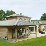 Grande maison moderne en ossature bois
