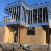Maison ossature metallique, fabrique acier galvanise