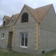 Maison individuelle en construction