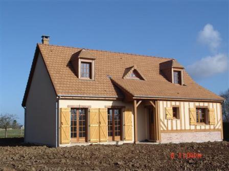 Maison individuelle construite en Haute-Normandie