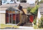 Agrandissement de maison de style moderne