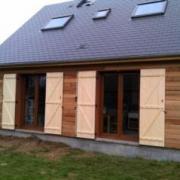 Maison bois construite en hors-eau / hors-air
