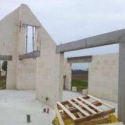 Photo de realisation des murs porteurs en maçonnerie
