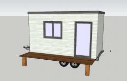 Agrandissement transportable vue en 3D