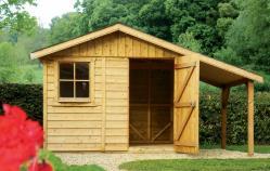 Albi abri de jardin en bois gamme Albi